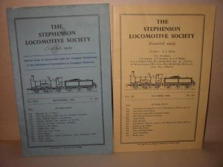 Two Stevenson Locomotive Society Journals